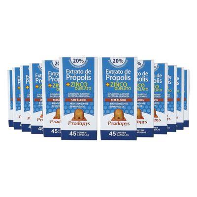 prodapys-12x-extrato-propolis-zinco-quelato-sem-alcool-20-extrato-seco-45-capsulas-loja-projeto-verao